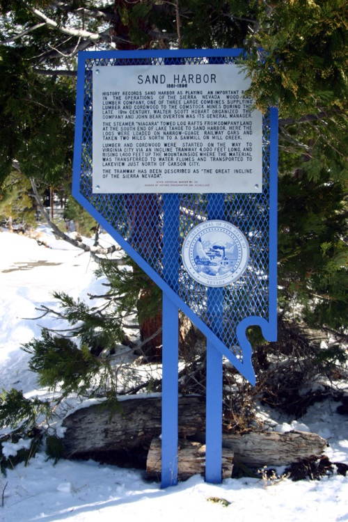 Nevada Historical Marker 221 is one of the markers that the state verified after reviewing our article. Image courtesy of Robert Wynn.