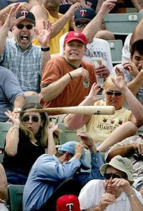 These Minnesota Twins fans have more to scream about than just their team's collapse at the end of the season.