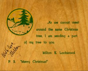 Lockwood card, etc