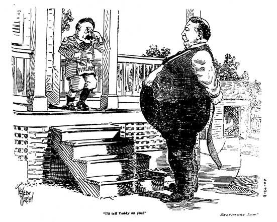 William Howard Taft Peeling Back The Bark
