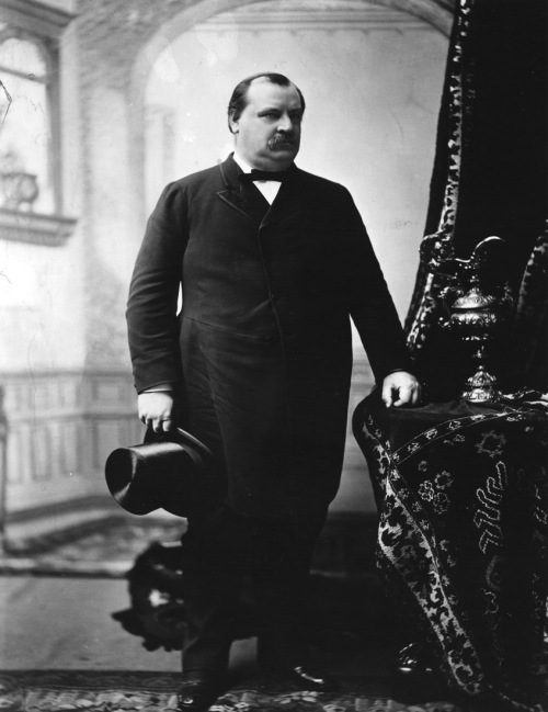 The Big Man himself, Grover Cleveland.  It was at the end of the second of his two non- consecutive terms in office that he created the Washington Birthday Forest Reserves.
