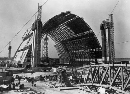 TECO blimp hangar