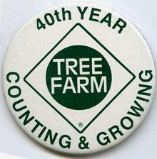 Tree Farm button
