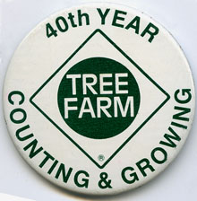 Tree Farm button