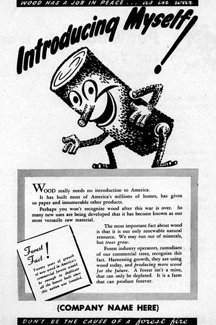 Introducing Woody advertisement