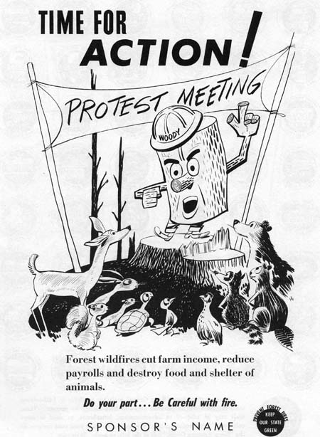 Woody protest meeting