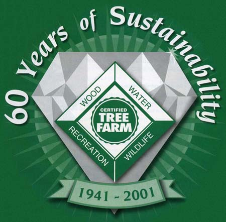 Tree Farm 60th anniversary logo