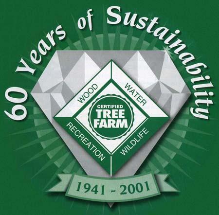 Tree Farm 60th anniversary logo