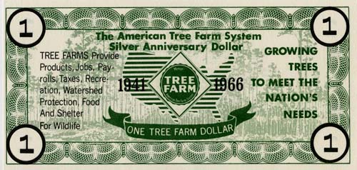 Tree Farm dollar