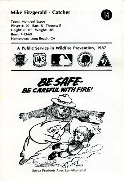 Montreal Expos fire safety