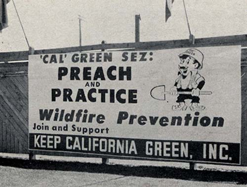 Cal Green sign