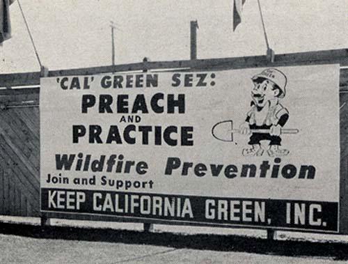 Cal Green sign