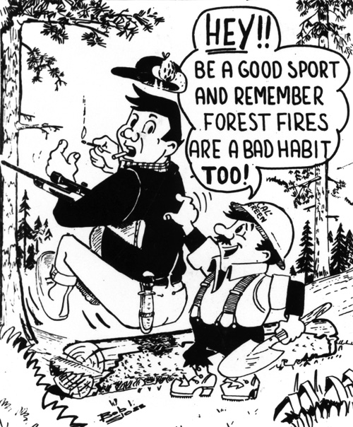 Bob Sloss Cal Green cartoon