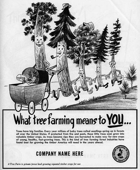 Tree Farm ad