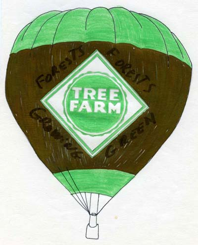 proposed Tree Farm balloon