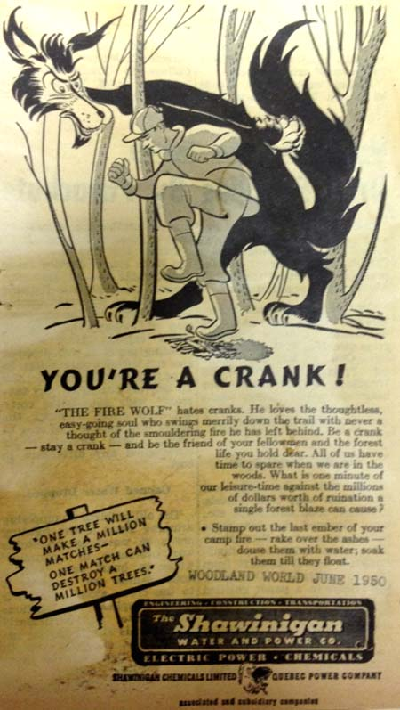 You're a crank