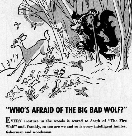 Fire Wolf advertisement