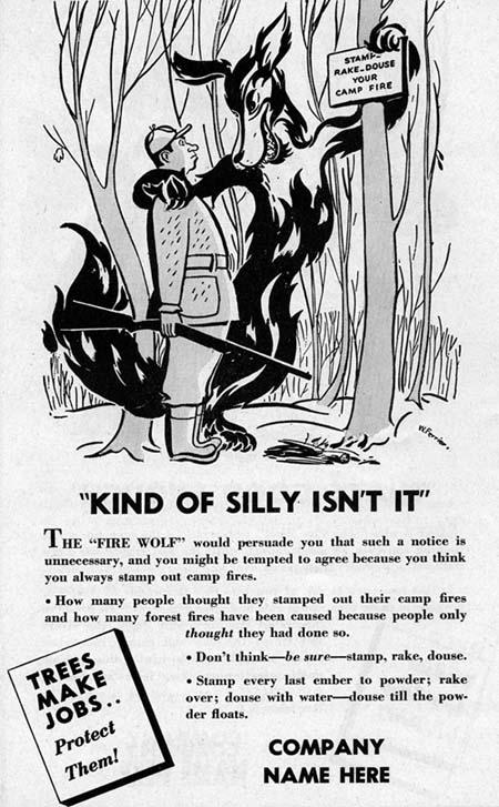 Fire Wolf advertisement