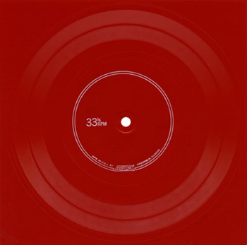 Evrett red vinyl record