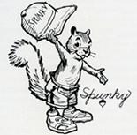 Spunky Squirrel