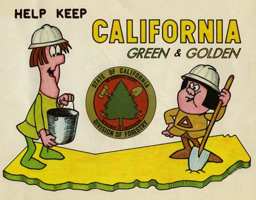 Sniff and Snuff Keep California Green
