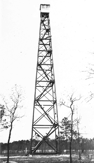 North Sampson County fire tower, NC.