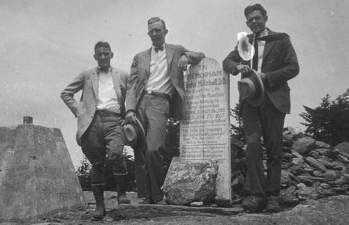 On Mt. Mitchell, 1926