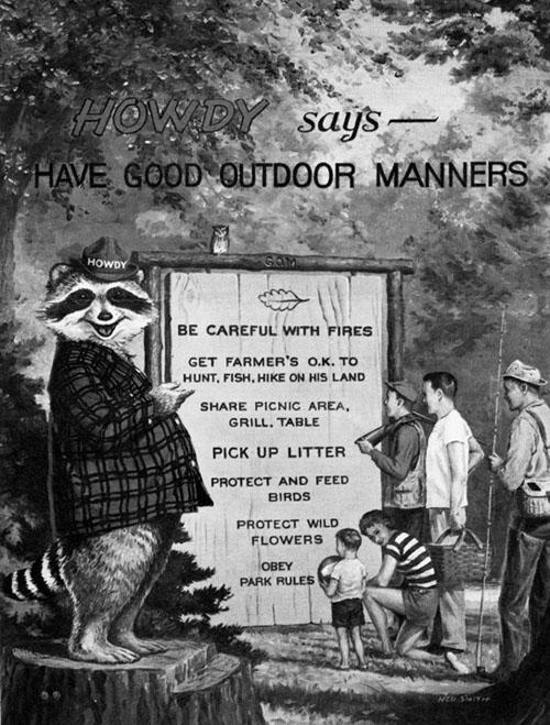 Howdy Raccoon says...