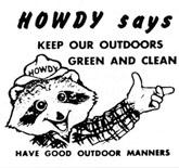 Howdy Raccoon says