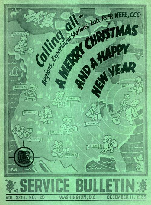1939 Service Bulletin - Christmas