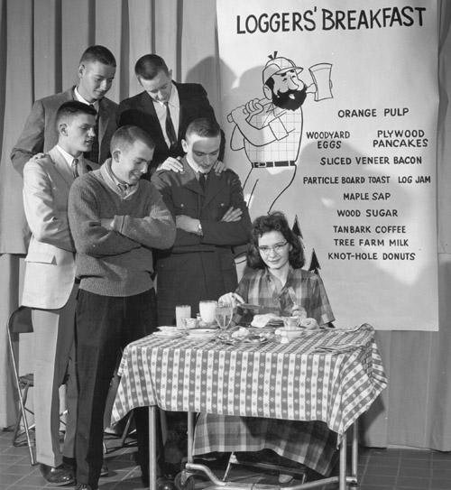 4-H logger's breakfast.