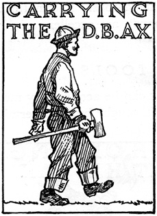 Carrying the D.B. Ax
