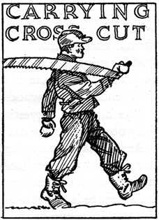 Carrying the Crosscut, CCC artwork.