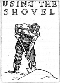 Using the Shovel, CCC artwork.