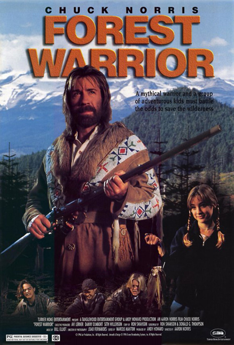 Chuck Norris is... Forest Warrior