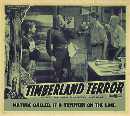 Timberland Terror movie poster