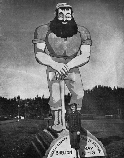 Paul Bunyan and Queen, 1951