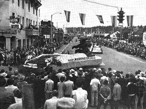 1953 Paul Bunyan Parade