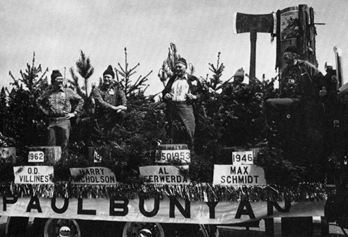 1981 parade Paul Bunyans