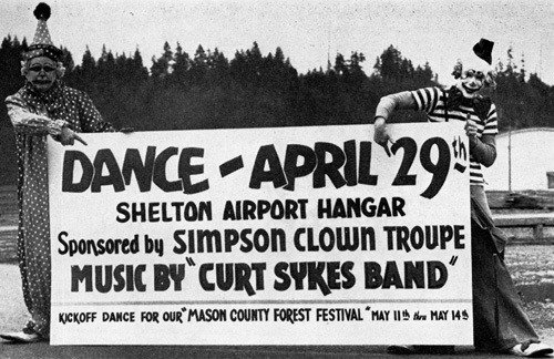 clown dance 1950