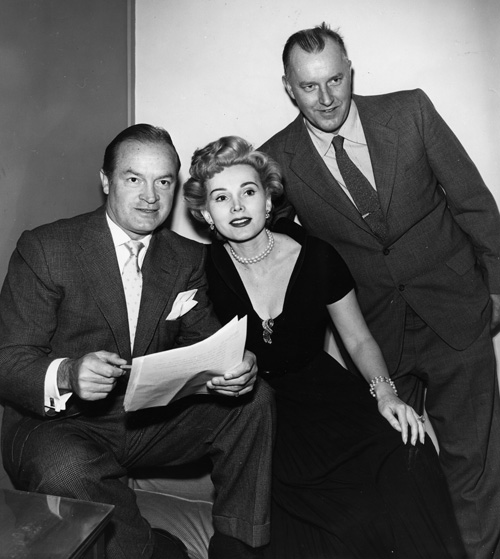 Bob Hope, Zsa Zsa Gabor, and Paul Searls