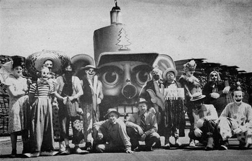 Simpson Clowns 1949