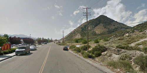 Present day site of Camp Cajon