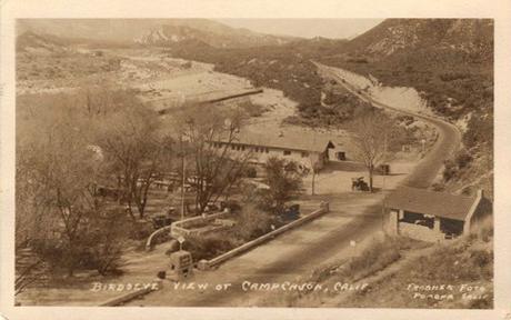 Camp Cajon postcard