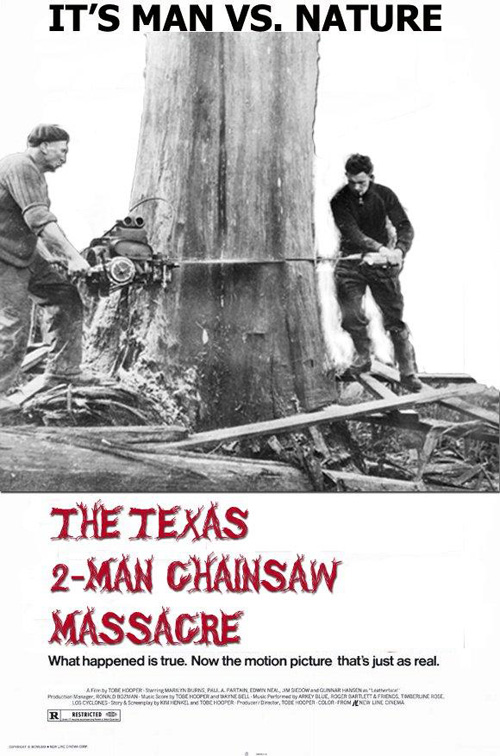 Texas 2-man Chainsaw Massacre