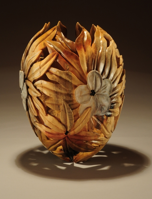 Ron Fleming, United States | Franklin Tree, 2012 | Tulip wood from Bartram's Garden | 12 x 9½""