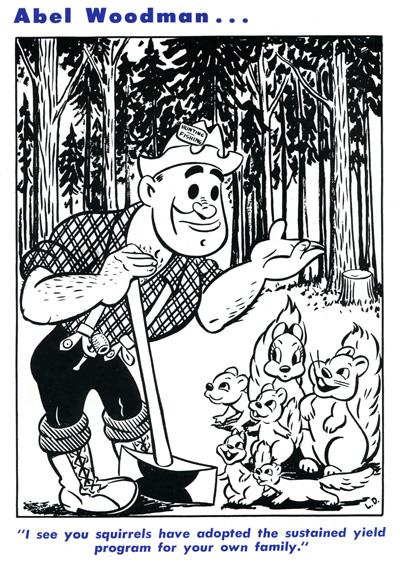 Abel Woodman April 1948