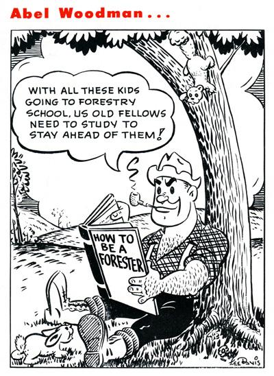 Abel Woodman August 1952