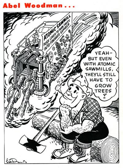 Abel Woodman March 1951