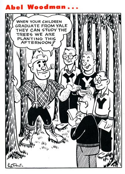 Abel Woodman March 1953